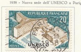 PIA - FRA - 1958 : Inaugurazione Del Palazzo Dell' U.N.E.S.C.O. A Parigi  - (Yv 1178) - France