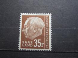 VEND BEAU TIMBRE DE SARRE N° 402 , XX !!! - 1957-59 Fédération