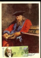 Kyrgyzstan, Maximum Card, 2019, Famous People, Chemie, D. Mendeleev,  First Day, Unic, Personal Achievement - Nobel Prize Laureates