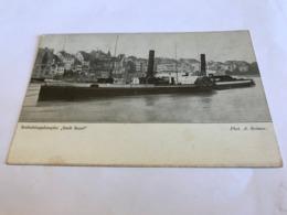 Switzerland Suisse Schweiz Steam Ship Stadt Basel Radschleppdampfer 11302 Post Card Postkarte POSTCARD - BS Basel-Stadt