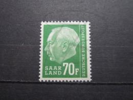 VEND BEAU TIMBRE DE SARRE N° 405 , XX !!! - 1957-59 Fédération