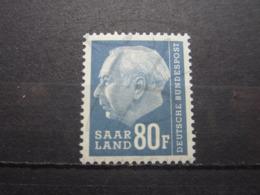 VEND BEAU TIMBRE DE SARRE N° 406 , XX !!! - 1957-59 Fédération