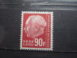 VEND BEAU TIMBRE DE SARRE N° 407 , XX !!! - 1957-59 Fédération