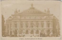 Photographie - Fin XIXème Siècle - Paris - Opéra Académie N. Musique - Photographe Hervé 170 Rue Rivoli - Fotografía
