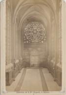 Photographie - Fin XIXème Siècle - Paris - Rosace Intérieur De  La Sainte-Chapelle - Photographe Hervé 170 Rue Rivoli - Fotografía