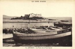 ANTIBES  Le Port Et Le Fort Carré RV - Altri