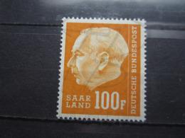 VEND BEAU TIMBRE DE SARRE N° 408 , XX !!! - 1957-59 Fédération