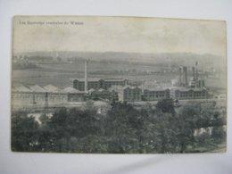 Ancien Carte Postale De Wanze  La  Sucreries  Centrales - Hoei