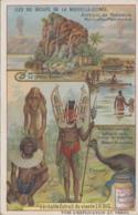 Chromos - Iles Du Groupe De La Nouvelle-Guinée - Papua New Guinea - Guerrier Volcan Casoar - Liebig - Liebig
