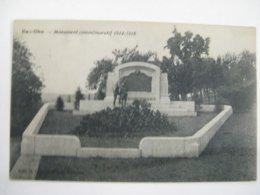 Ancien Carte Postale De Bas-oha  Monument  Commémoratif  14-18 - Hoei