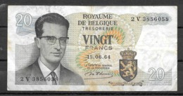 BELGIQUE : Billet De Banque De  Francs émis Le 15 06 064 Ayant Circulé - Andere