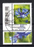 """Deutschland Mi. 3468 """"Freimarke Blumen: Kornblume"""" Nassklebend ESST-gestempelt - [7] República Federal"""