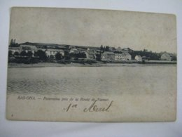 Ancien Carte Postale De Bas-oha Panorama  Pris  De  La  Route  De  Namur - Hoei