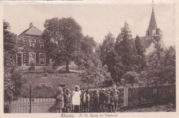 2603265Rhenoy, N. H. Kerk En Pastorie (zie Hoeken En Randen) - Holanda