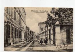 MANTOVA - VIA GIARDINO E PALAZZO CAVRIANI - VIAGGIATA - Mantova