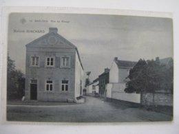 Ancien Carte Postale De Bas-oha  Rue Du  Rivage  Maison  Rinchard - Hoei