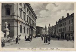 MANTOVA - VIA ROMA E PALAZZO DELLE REGIE POSTE - VIAGGIATA - Mantova