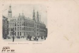 2822115Amsterdam, Koninklijk Postkantoor (poststempel 1898)(zie Achterkant) - Amsterdam