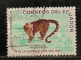 EQUATEUR        OBLITERE - Equateur
