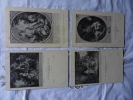 LOT 754-26 CPA CHEFS D OEUVRES DU XVIII SIECLE    -Tous Les Scans Disponibles - Schilderijen