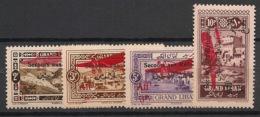 Grand Liban - 1926 - Poste Aérienne PA N°Yv. 17 à 20 - Série Complète - Neuf * / MH VF - Great Lebanon (1924-1945)