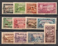 Grand Liban - 1926 - N°Yv. 63 à 74 - Réfugiés / Série Complète - Neuf * / MH VF - Great Lebanon (1924-1945)