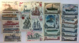 USSR 1971-1977 Sea Ships Unused Stamps - 1923-1991 USSR