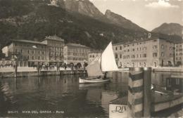 RIVA DEL GARDA - PORTO - FORMATO PICCOLO PRIME LUCIDE - VIAGGIATA - (rif. R67) - Trento