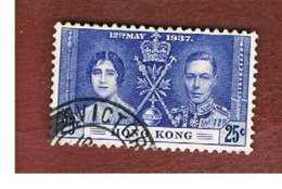 HONG KONG -  SG 139  -  1937 CORONATION OF KING GEORGE VI      - USED ° - Hong Kong (...-1997)