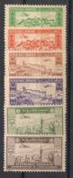 Grand Liban - 1943 - Poste Aérienne PA N°Yv. 85 à 90 - Série Complète - Neuf Luxe ** / MNH / Postfrisch - Great Lebanon (1924-1945)