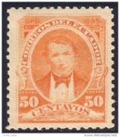 314 Equateur 50c Orange 1895 MH * Neuf CH (ECU-9) - Equateur