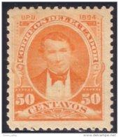 314 Equateur 50c Orange 1894 MH * Neuf CH (ECU-10) - Equateur