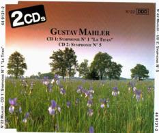 CD N°810 - GUSTAV MAHLER - COMPILATION 2 CD - Clásica