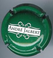 Capsule Cidre André Jalbert Vert Et Blanc - Kroonkurken
