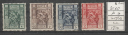 1924 LIBIA Serie Completa Nuova ** MNH - Libyen