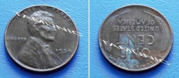 UNITED STATES USA 1 Cent ONE CENT 1939 - LINCOLN - 1909-1958: Lincoln, Wheat Ears Reverse