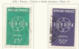 PIA - FRA - 1959 : Europa CEPT - (Yv 1218-19) - 1959