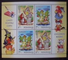 Rumänien  BL    Kinderbücher  Cept    Europa  2010  ** - Europa-CEPT