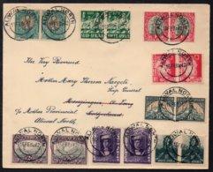 AFRIQUE DU SUD - SOUTH AFRICA - ALIWAL NOTH / 1942 PAIRES SUR LETTRE  (ref 5410) - South Africa (...-1961)