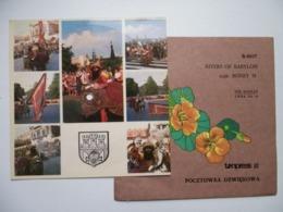45 Rpm Polish Flexi Card / Boney M Rivers Of Babylon / Very Rare - Special Formats