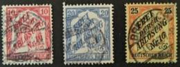 1905 Zâhldienstmarken Ausgabe Für Baden Mi.12, 13, 14 - Service