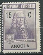 Angola  -  Yvert N° 226 * ( Légeres Rousseurs Sur La Gomme Au Dos -- Aab23822 - Angola