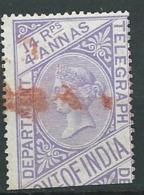 Inde Anglaise - Télégraphe     Yvert N° 12 Oblitéré  -- Aab23836 - India (...-1947)