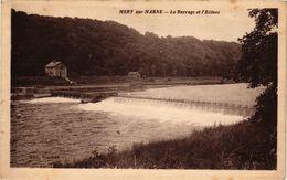 CPA MÉRY Sur MARNE - Le Barrage Et L'Ecluse (249386) - Autres Communes