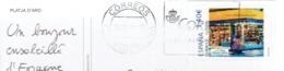 Tu Sello Personalizado  (= Timbre Personnalisé Persoonlijke Postzegel) Libreria Susana Playa De Aro Sur CP Du 16/07/2019 - 2011-... Lettres