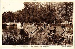 CPA CHATILLON-COLIGNY - La Lanciere - La Baignade (228442) - Chatillon Coligny