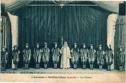 CPA L'Ancension A CHATILLON-COLIGNY - Le Choeur (228447) - Chatillon Coligny