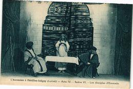 CPA L'Ancension A CHATILLON-COLIGNY - Acte IV - Scene VI - (228449) - Chatillon Coligny