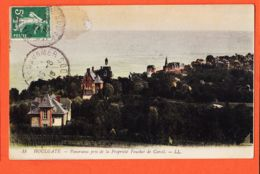 X14163 HOULGATE Panorama Pris De La Propriété FOUCHER De CAREIL 1916 à TAILHADES Rue Claude Vellefaux Paris X - Houlgate