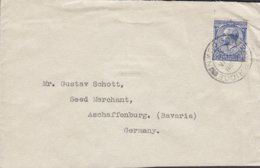 Ireland Vorläufer Great Britain JOSEPH MORTON Ltd., BANBRIDGE 1935 Cover Brief SCHAFFENBURG Bayern Germany (2 Scans) - 1902-1951 (Könige)